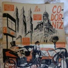 Coleccionismo de Revistas y Periódicos: LA CODORNIZ. N. 1368. 4 FEB. 1968. Lote 126147932