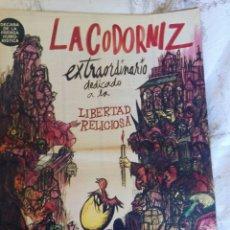 Coleccionismo de Revistas y Periódicos: LA CODORNIZ. EXTRA. N. 1339. 16 JULIO 1967. Lote 126148838