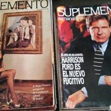 Coleccionismo de Revistas y Periódicos: LOTE 47 REVISTA SUPLEMENTO SEMANAL 1991 1992 1993. Lote 126157616