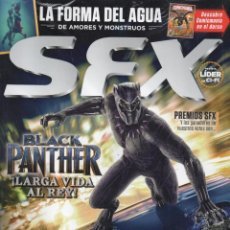 Coleccionismo de Revistas y Periódicos: SFX N. 7 MARZO/ABRIL 2018 - EN PORTADA: BLACK PANTHER (PRECINTADA). Lote 129545530