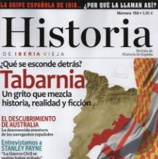 Coleccionismo de Revistas y Periódicos: HISTORIA DE IBERIA VIEJA N. 153 - EN PORTADA: TABARNIA (NUEVA). Lote 126160359
