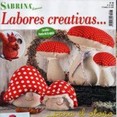 Coleccionismo de Revistas y Periódicos: SABRINA ESPECIAL N. 28 - LABORES CREATIVAS PARA EL OTOÑO (NUEVA). Lote 173663790