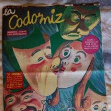 Coleccionismo de Revistas y Periódicos: LA CODORNIZ. EXTRA AMOR. N. 1233. 4 JUL. 1965. Lote 126162518