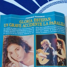 Coleccionismo de Revistas y Periódicos: GLORIA ESTEFAN. Lote 126171295