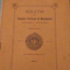 Coleccionismo de Revistas y Periódicos: BOLETIN DE LA COMISION PROVINCIAL DE MONUMENTOS HISTORICOS DE ORENSE TOMO V N 110 1916. Lote 126178203