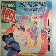 Coleccionismo de Revistas y Periódicos: REVISTA EXTRA ROCK DE LUX POP NACIONAL 1988 MECANO LOQUILLO ALASKA ULTIMO DE LA FILA ETC.. Lote 126199219