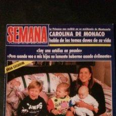 Coleccionismo de Revistas y Periódicos: ISABEL PANTOJA PREYSLER-NANA MOUSKOURI-LOLA FLORES-ANA OBREGON-MASSIEL-ESTEFANIA-BUTRAGUEÑO-. Lote 126205875