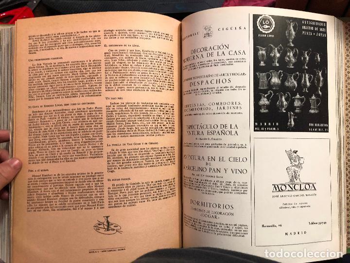 10 tomos encuadernados de revistas arte hogar a - Verkauft durch ...