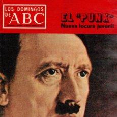 Coleccionismo de Revistas y Periódicos: 1977. ¡VUELVE HITLER!. EL PUNK. PETER USTINOV. JUAN BARJOLA. VER SUMARIO.. Lote 126339879