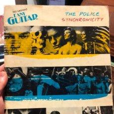 Coleccionismo de Revistas y Periódicos: REVISTA THE POLICE SYNCHRONICITY - CLASES PARA GUITARRA - AÑO 1983. Lote 126386843
