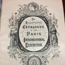 Coleccionismo de Revistas y Periódicos: FANTASTICO CATALOGO DE ARTE DE PARIS AÑO 1878 - 212 PAGINAS. Lote 126478667