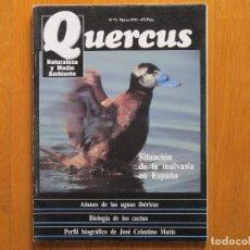 Coleccionismo de Revistas y Periódicos: REVISTA QUERCUS - CUADERNO 73 - MARZO 1992 - MALVASÍA. Lote 126495995