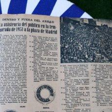 Coleccionismo de Revistas y Periódicos: 1952 TEMPORADA TAURINA DE MADRID 1951 . Lote 126600815