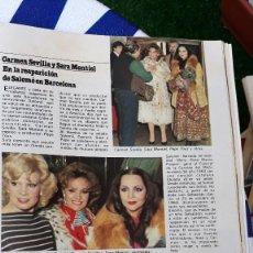 Coleccionismo de Revistas y Periódicos: SARA MONTIEL CARMEN SEVILLA SALOME MIGUEL GALLARDO . Lote 126694019