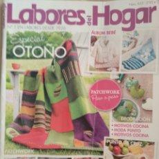 Coleccionismo de Revistas y Periódicos: LABORES DEL HOGAR. N 635 PUNTO DE CRUZ. Lote 126768354