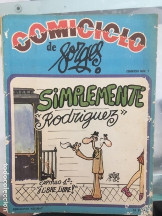 COMICICLO DE BORGES 1974 (Coleccionismo - Revistas y Periódicos Modernos (a partir de 1.940) - Otros)