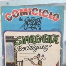 Coleccionismo de Revistas y Periódicos: COMICICLO DE BORGES 1974. Lote 126778639
