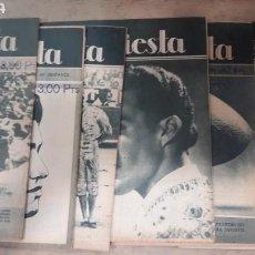 Coleccionismo de Revistas y Periódicos: LOTE 7 REVISTAS TOROS LA FIESTA 1948. Lote 126856267