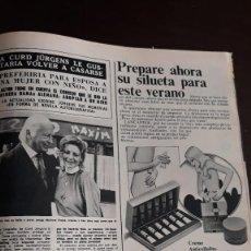 Coleccionismo de Revistas y Periódicos: CURD JURGENS. Lote 126898019