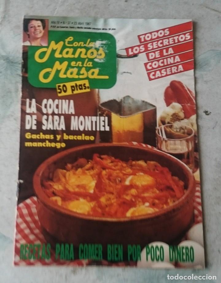 Con Las Manos En La Masa. La Cocina De Sara Montiel. Núm. 37: Gachas Y  Bacalao Manchego (1987)