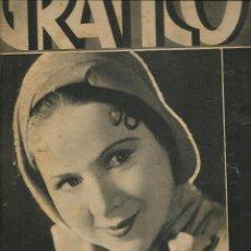 Coleccionismo de Revistas y Periódicos: MUNDO GRÁFICO. Nº 1044. EN PORTADA: ENRIQUETA SERRANO. 4 NOVIEMBRE 1931.(B/58). Lote 126963899