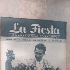 Coleccionismo de Revistas y Periódicos: REVISTA LA FIESTA 1946. Lote 126995826