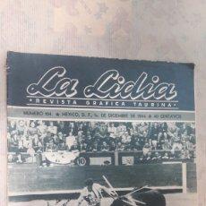 Coleccionismo de Revistas y Periódicos: REVISTA LA LIDIA DICIEMBRE 1944. Lote 126996619