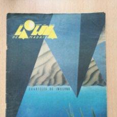 Coleccionismo de Revistas y Periódicos: REVISTA LA LUNA DE MADRID N°23 DICIEMBRE 1985. Lote 127023100