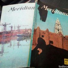 Coleccionismo de Revistas y Periódicos: REVISTA MERIDIANO. AGOSTO 1959. AGOSTO 1960. BUEN ESTADO.. Lote 127111459