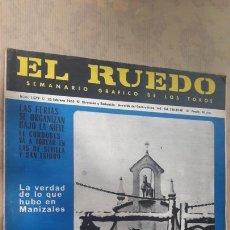Coleccionismo de Revistas y Periódicos: LOTE 5 REVISTAS TOROS EL RUEDO 1965. Lote 127200219