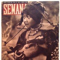 Coleccionismo de Revistas y Periódicos: SEMANA, N.º 118. 26 DE MAYO DE 1942. Lote 127204843