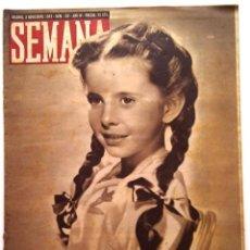 Coleccionismo de Revistas y Periódicos: SEMANA, N.º 193. 2 DE NOVIEMBRE DE 1943. Lote 127205987