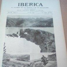 Coleccionismo de Revistas y Periódicos: IBERICA Nº574 1925 FOTOS Y DIBUJOS DE LAS RESERVAS HIDRAULICAS DE LA ALPUJARRA SIERRA NEVADA. Lote 127215115