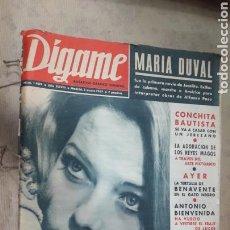 Coleccionismo de Revistas y Periódicos: DÍGAME ENERO A MARZO 1967 COMPLETO. Lote 128360840