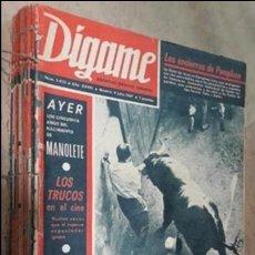 Coleccionismo de Revistas y Periódicos: DÍGAME JULIO A SEPTIEMBRE COMPLETO 1967. Lote 127449896
