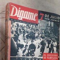 Coleccionismo de Revistas y Periódicos: DÍGAME JULIO A SEPTIEMBRE 1964 COMPLETO. Lote 127453991