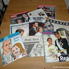 Coleccionismo de Revistas y Periódicos: ESPAÑA BODA REAL FELIPE VI Y LETIZIA. Lote 127506035