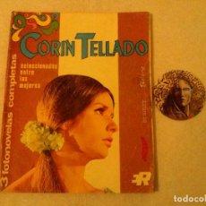 Coleccionismo de Revistas y Periódicos: 2 FOTONOVELAS - CORIN TELLADO .... LEER DESCRIPCION.. Lote 127593699