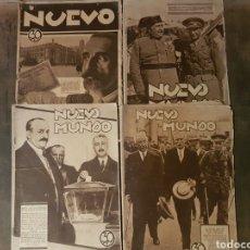 Coleccionismo de Revistas y Periódicos: LOTE PERIÓDICO REVISTA NUEVO MUNDO 1931 REPÚBLICA. Lote 127614648