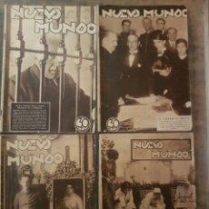 Coleccionismo de Revistas y Periódicos: LOTE REVISTAS NUEVO MUNDO REPÚBLICA 1932. Lote 127615984