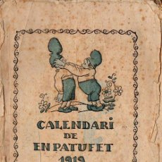 Coleccionismo de Revistas y Periódicos: CALENDARI ALMANAQUE PATUFET 1919 - CON LA PRIMERA ILUSTRACIÓN DE SALVADOR DALÍ. Lote 127650431