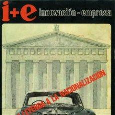 Coleccionismo de Revistas y Periódicos: I+E INNOVACIÓN-EMPRESA. INSTITUTO NACIONAL DE RACIONALIZACIÓN Y NORMALIZACIÓN MARZO 1971.. Lote 127730203