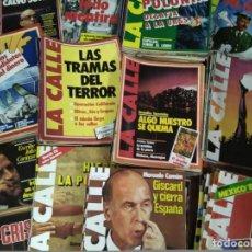 Coleccionismo de Revistas y Periódicos: ESPECTACULAR COLECCIÓN 138 NÚMEROS REVISTA 'LA CALLE' (1979-1982). Lote 127737371