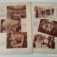 Coleccionismo de Revistas y Periódicos: REPORTAJE DE REVISTA ORIGINAL ANTIGUA. MISCELANEA CARNAVALESCA. Lote 127740835