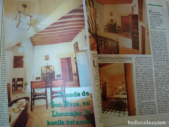 Coleccionismo de Revistas y Periódicos: REVISTA BRISAS Nº253 1992 POSADA SON REUS (LLUCMAJOR). JOAN FORCADES - Foto 2 - 127818651