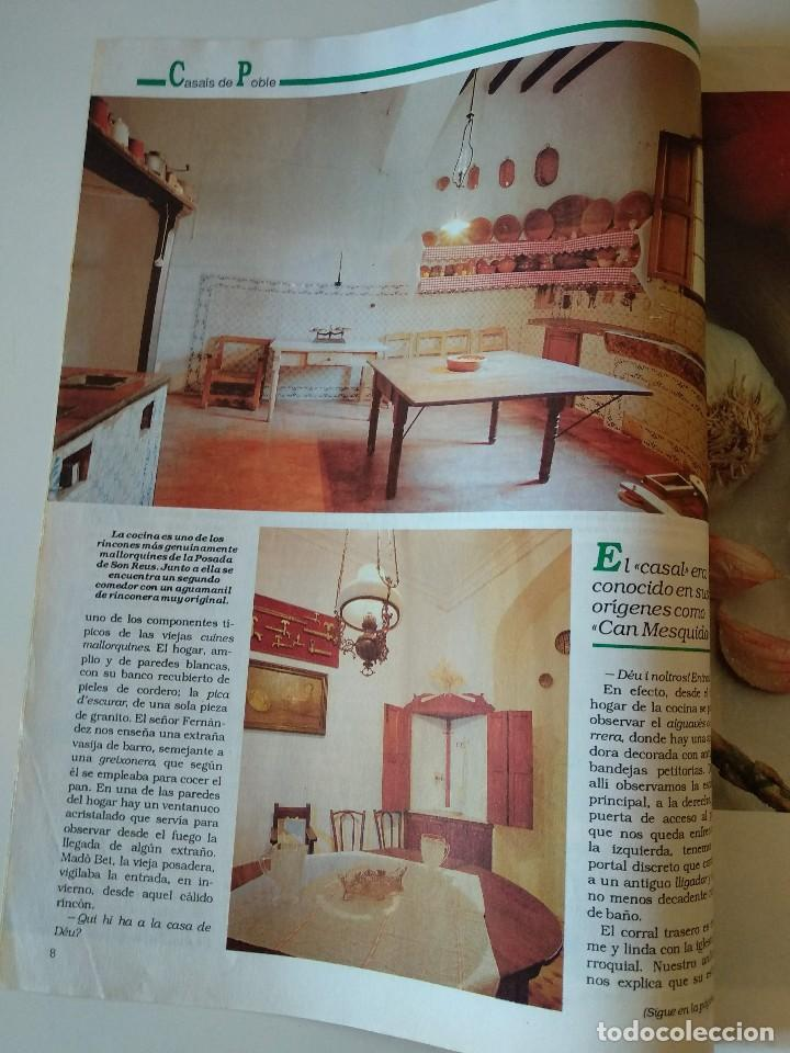 Coleccionismo de Revistas y Periódicos: REVISTA BRISAS Nº253 1992 POSADA SON REUS (LLUCMAJOR). JOAN FORCADES - Foto 3 - 127818651