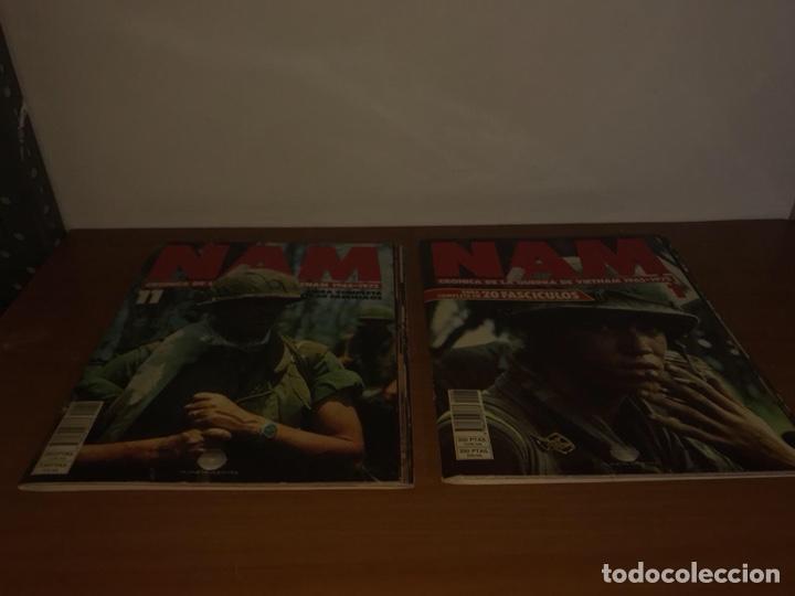 Coleccionismo de Revistas y Periódicos: 20 Fasciculos NAM Cronica de la Guerra de Vietnam 1965-1975 Serie completa - Foto 2 - 127977334
