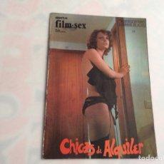 Coleccionismo de Revistas y Periódicos - NUEVO FILM SEX Nº 21 CHICAS DE ALQUILER, NADIUSKA, SILVIA SOLAR, ALICE ARNO - 44070151