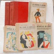 Coleccionismo de Revistas y Periódicos: COLECCION 22 REVISTA LITERARIA NOVELAS Y CUENTOS CON TAPAS ORIGINAL AÑOS 50/60. Lote 128053851