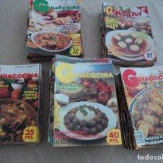 Coleccionismo de Revistas y Periódicos: 115 REVISTAS GUIACOCINA DESDE EL AÑO 1982 AL 1986 CANTIDAD DE RECETAS. Lote 128085355